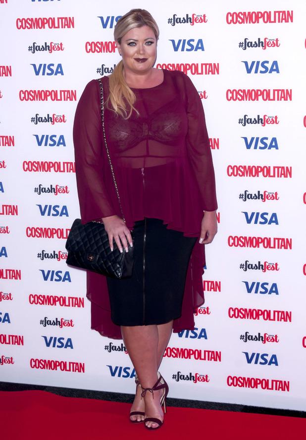 Gemma Collins at Cosmopolitan FashFest, at the Battersea Evolution - 17 September 2015.