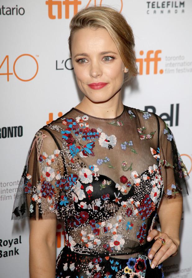 Actress Rachel McAdams at the International Film Festival in Toronto, 15th September 2015