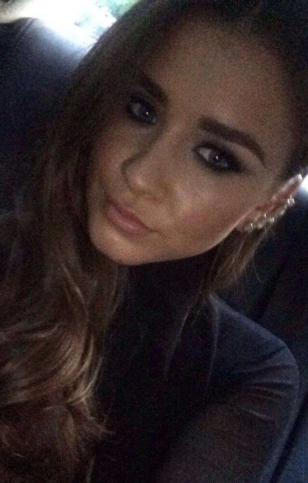 Brooke Vincent en-route to Jess Wright's birthday party. Used for Brooke's blog. 14 September 2015.