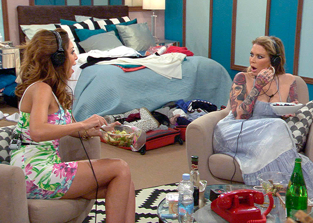 CBB Day 18: Jenna and Farrah discuss housemates before they re-enter the house.