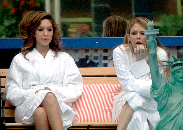 CBB Day 18: Jenna and Farrah discuss noms before they re-enter the house.