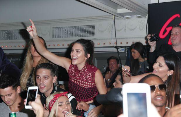 Galore Celebrates: Generation Bombshell, Up&Down, New York, America - 14 Sep 2015 Kylie Jenner, Khloe Kardashian, Kendall Jenner