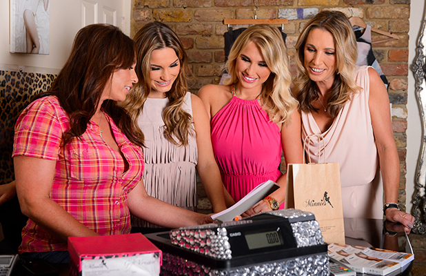 Wear It Pink for Breast Cancer Now 2015 Sam and Billie Faiers