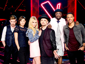 The Voice coaches pictured together for first time as filming begins