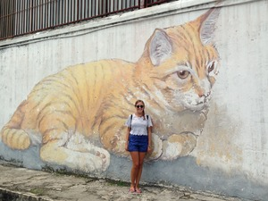 A fortnight in Malaysia and Singapore - Street Art and Supertrees