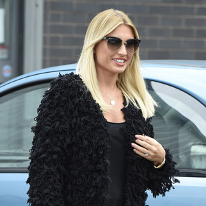 Billie Faiers leaving a meeting in Manchester - 21 August 2015.