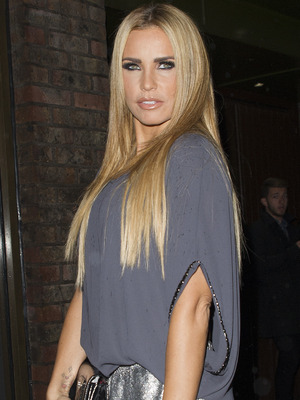 Katie Price attends Simply Glamorous book launch by celebrity makeup artist Gary Cockerill held at Alom Zakaim galley 16 September