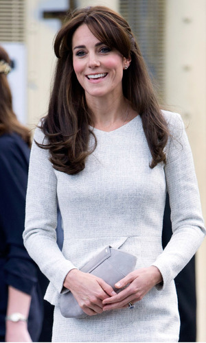 Catherine Duchess of Cambridge visits HMP Send, Woking, Surrey, Britain - 25 Sep 2015