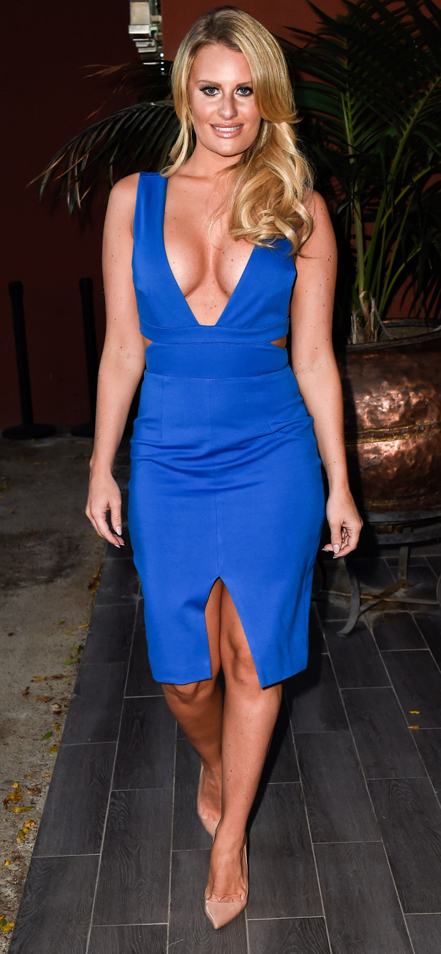 TOWIE's Danielle Armstrong at Funky Buddha Nightclub in Marbella, 23d September 2015