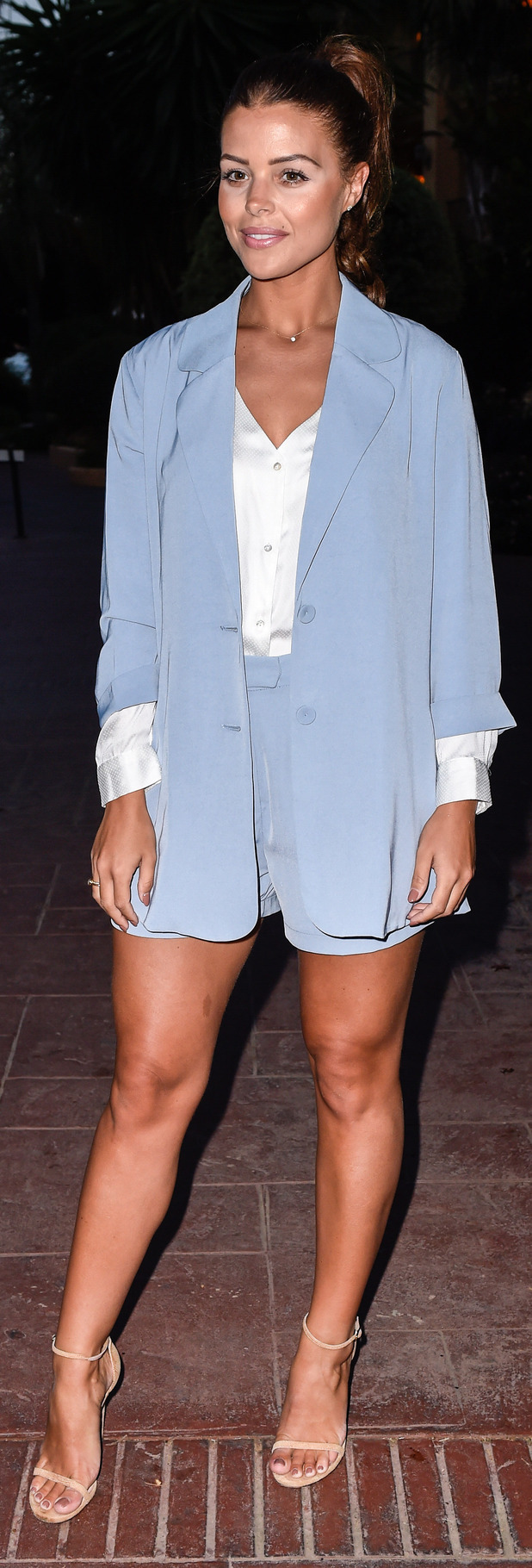 TOWIE's Chloe Lewis out and about in Marbella, 24th September 2015