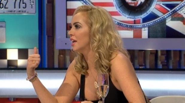 Aisleyne Horgan-Wallace on Celebrity Big Brother's Bit On The Side - 22 September 2015.
