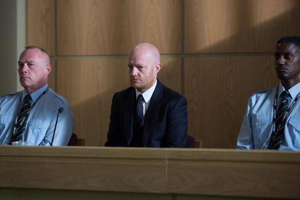 EastEnders, Max's verdict in, Mon 28 Sep