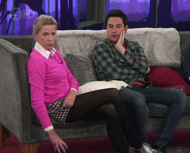 Celebrity Big Brother, Shown on Channel 5 - Katie Price, Kavana, Katie Hopkins - 4 February 2015.