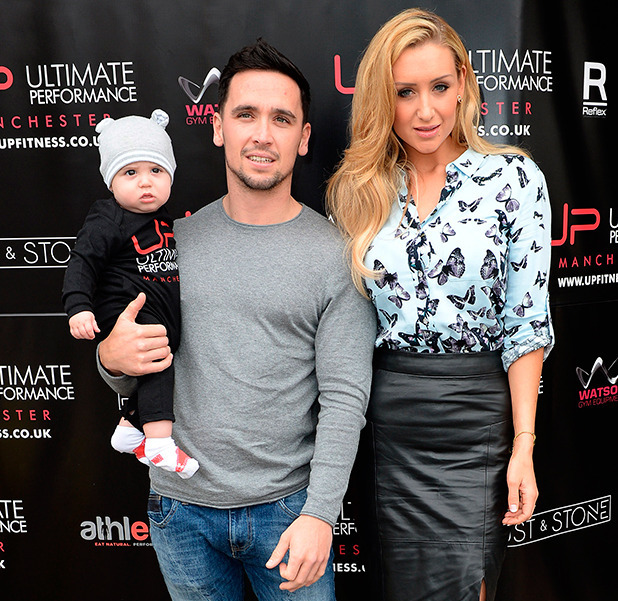 Catherine Tyldesley attends the Official Opening for the Ultimate Performance Gym in Manchester
