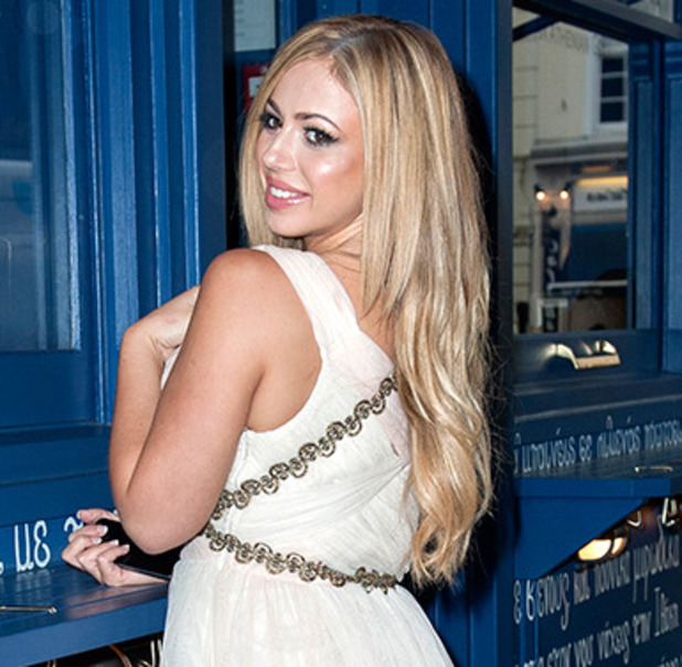 Geordie Shore stars Hit Soho in Full Greek gear to celebrate new MTV series. Holly Hagan
