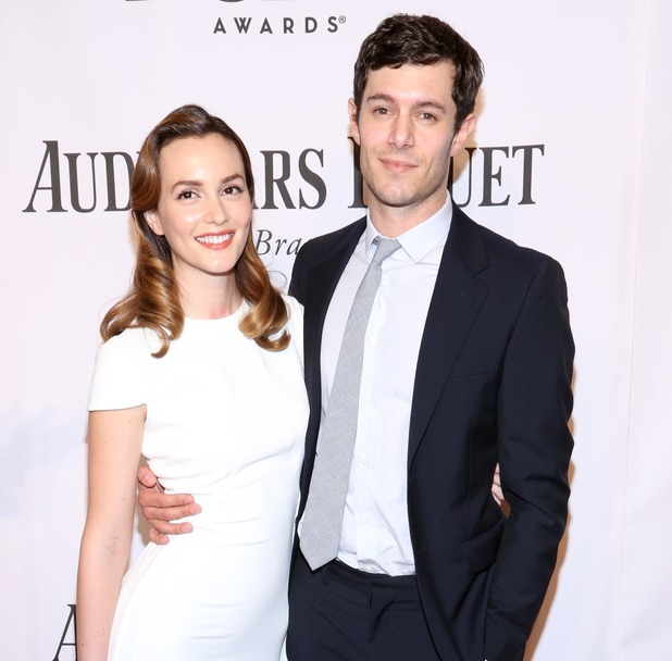 Leighton Meester and Adam Brody at The 68th Annual Tony Awards -Radio City Music Hall - New York - NY. June 2014.