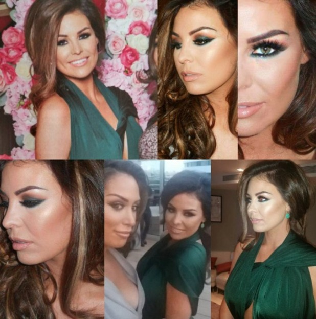 Jess Wright 30th birthday make-up by Krystal Dawn, 21 September 2015