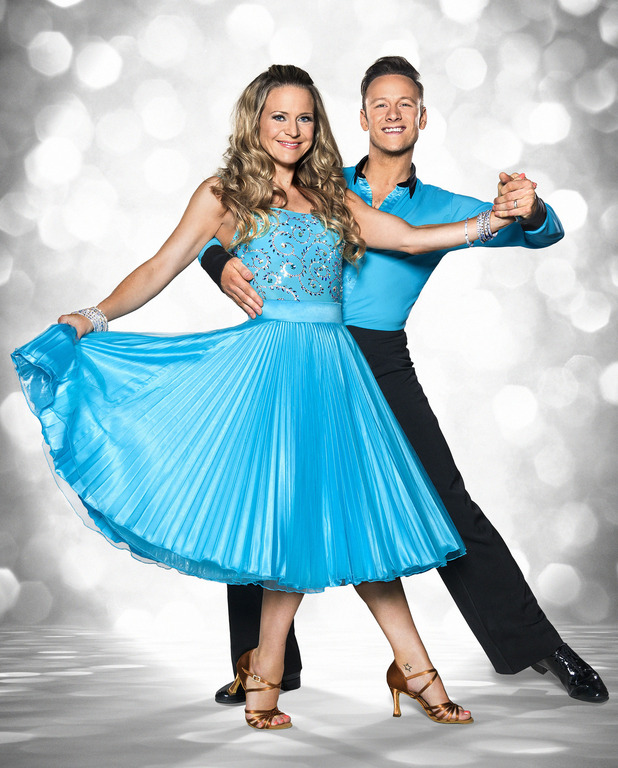 Strictly Come Dancing 2015: Kellie Bright and Kevin Clifton