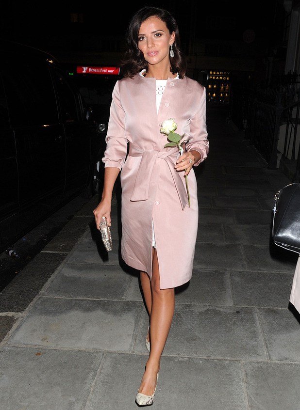 Lucy Mecklenburgh at Beulah London 'Chrysalis' collection launch, London 24 September