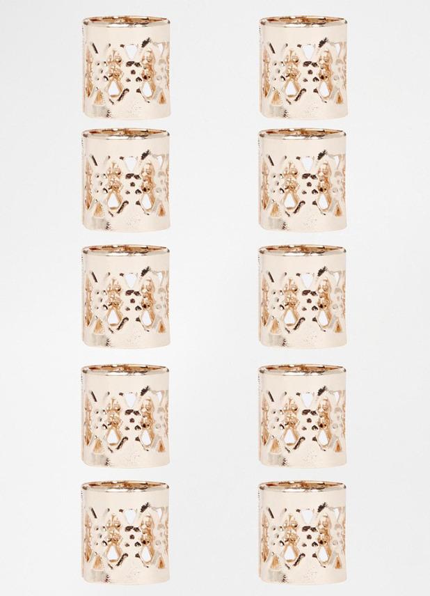 ASOS Pack of Ten Filigree Cuffs £6, 21st September 2015