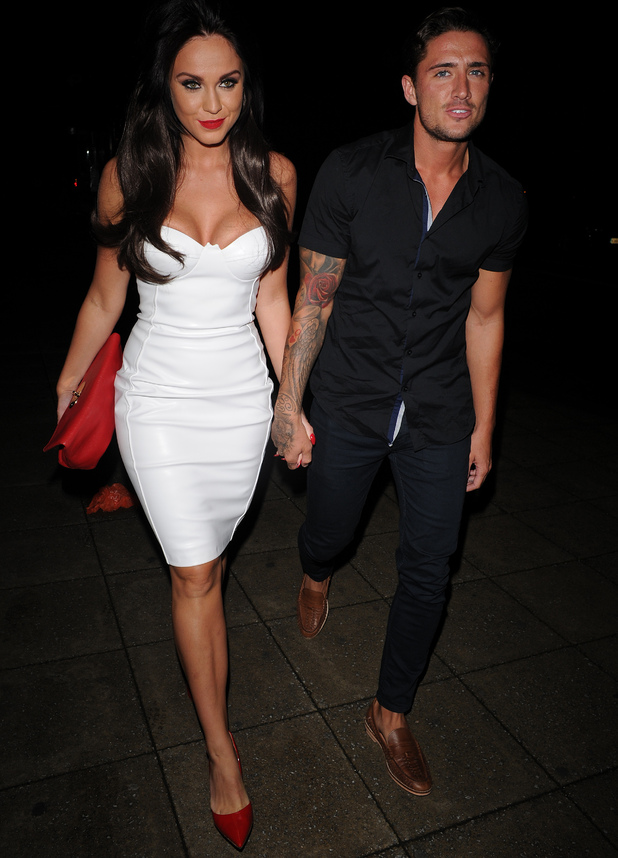 Vicky Pattison and Stephen Bear 29 August