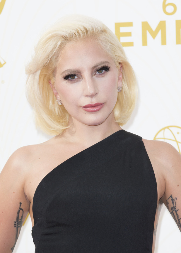 Lady Gaga at the 67th Annual Primetime Emmy Awards in L.A, 21st September 2015