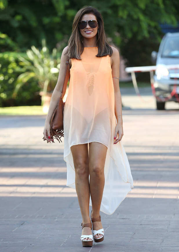 Jessica Wright filming in Marbella 21 September