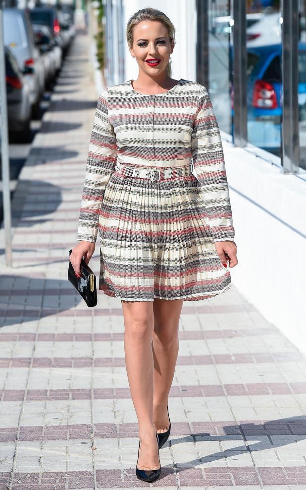 Lydia Bright heads to filming at Olivia's La Cala, Marbella 24 September
