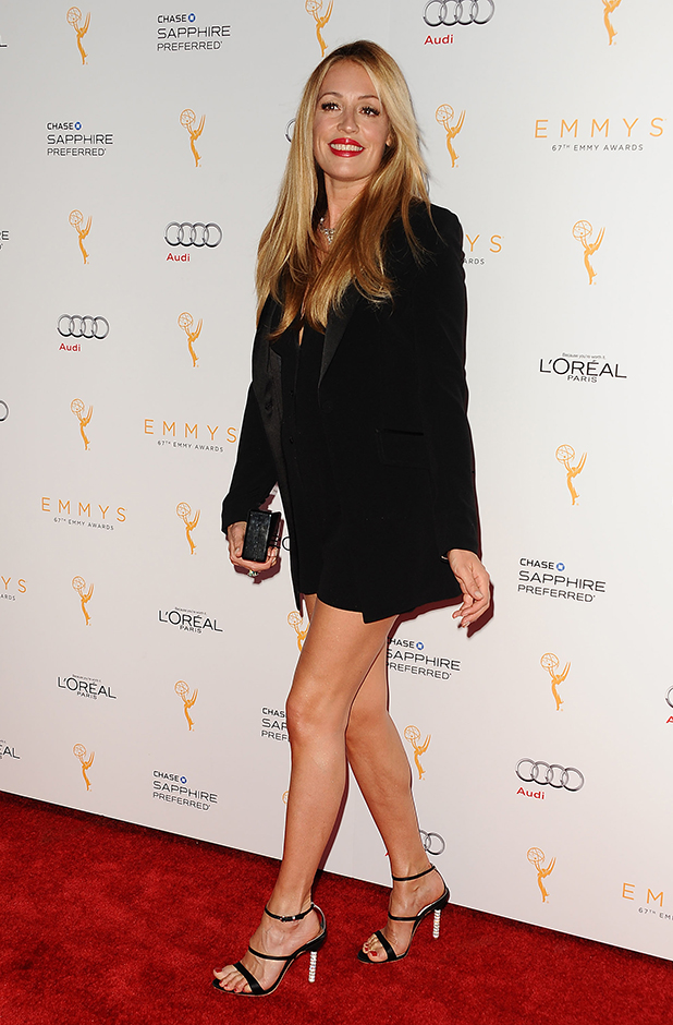 Television Academy's celebration for the 67th Emmy Award nominees for outstanding performances at Pacific Design Center Cat Deeley
