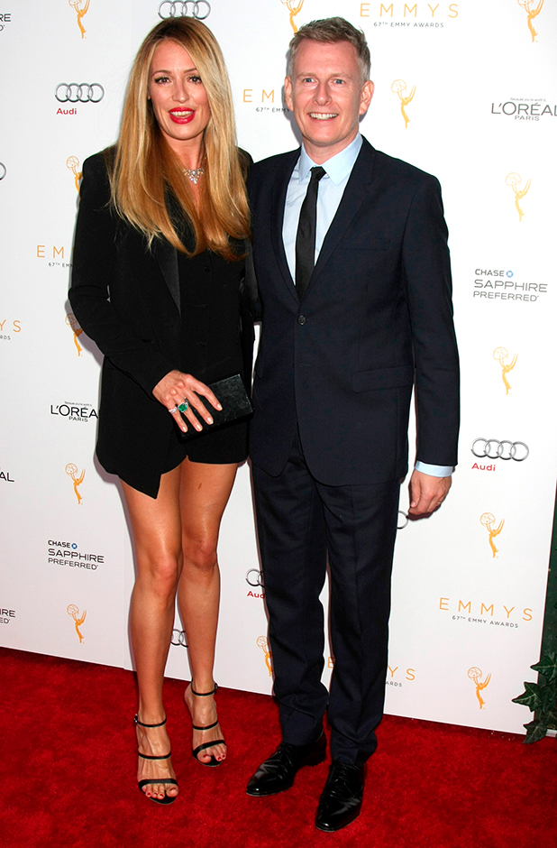 Television Academy's celebration for the 67th Emmy Award nominees for outstanding performances at Pacific Design Center Cat Deeley and Patrick Kielty