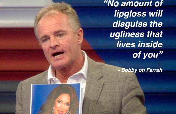 CBB Day 13: nominations Bobby