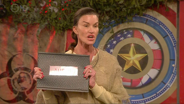 CBB: After leaving her rock Janice is told that she must destroy one of the housemates letters and throw it into the volcano in the garden. Janice chose Austin's letter on 'Celebrity Big Brother'. Broadcast on Channel 5 HD