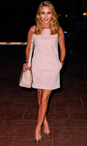 Carol Wright celebrated her 55th Birthday in Marbella and TOWIE stars headed to Olivias La Cala, owned by Elliott Wright for dinner. Lydia Bright and Debbie Douglas