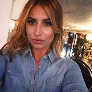 Ferne McCann shares sultry selfie, August 2015