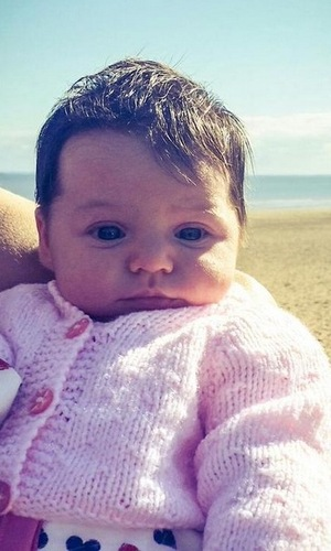 Jaime-Leigh Paley shares picture of daughter Elyssia 27 September