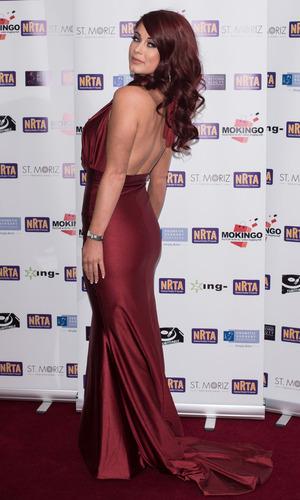 Love Island star Jess Hayes at the National Reality TV Awards held at the Porchester Hall - 30 November 2015.