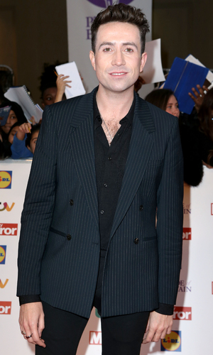 Nick Grimshaw at the Pride of Britain Awards - arrivals at Grosvenor House - 29 September 2015.