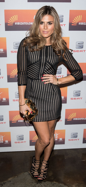 Zoe Hardman at the SEAT Ibiza launch party in London, 1st October 2015