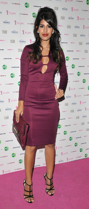 Desi Rascals' Jasmin Walia at the Pink Ribbon Foundation Launch Party 30th September 2015