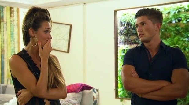 Megan McKenna and Jordan Davies fallout, Ex On The Beach 29 September