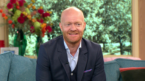 Jake Wood appears on 'This Morning' to talk about his exit from 'EastEnders' and taking a years break. Broadcast on ITV1 HD. 29 September 2015.