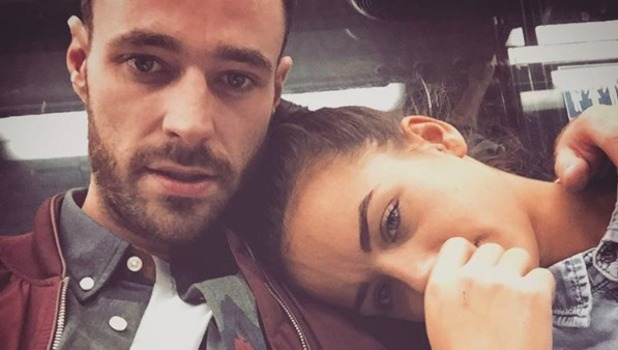 Sean Ward shares cute selfie with girlfriend Georgia May Foote.