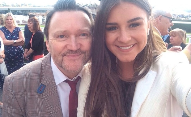 Brooke Vincent attends Chester Races with friends, September 2015