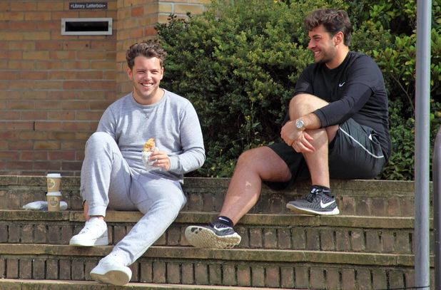 James Diags Bennewith and James Arg Argent film for TOWIE, Essex 28 September