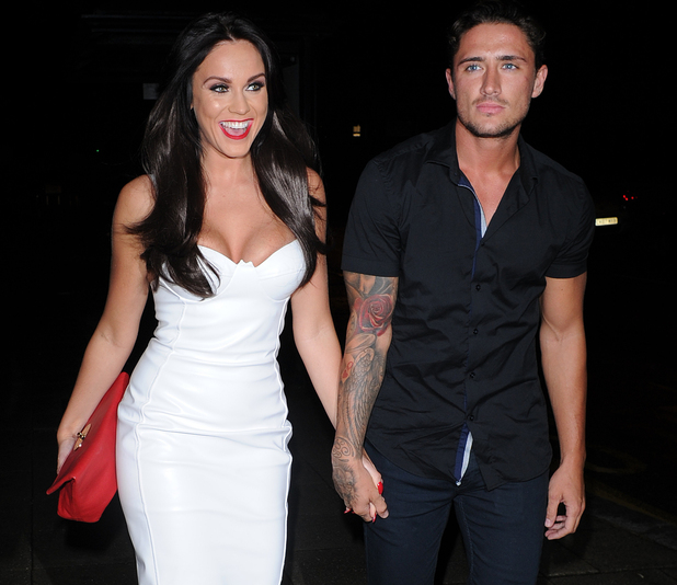 Stephen Bear and Vicky Pattison, Nu Bar, Essex 29 August