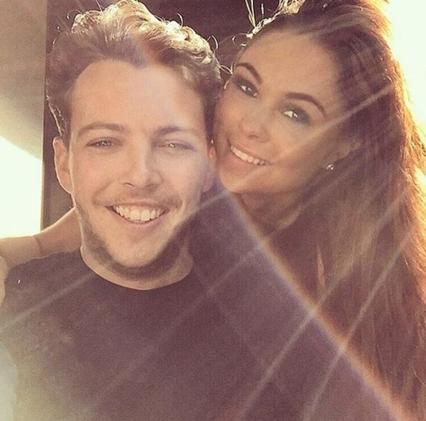 Fran Parman and James Diags Bennewith film for TOWIE 28 September