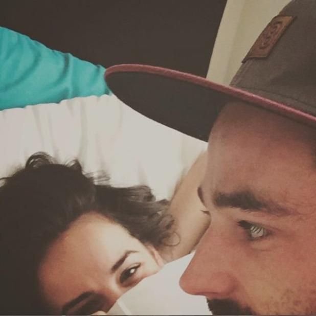 Sean Ward shares cute selfie with girlfriend Georgia May Foote.