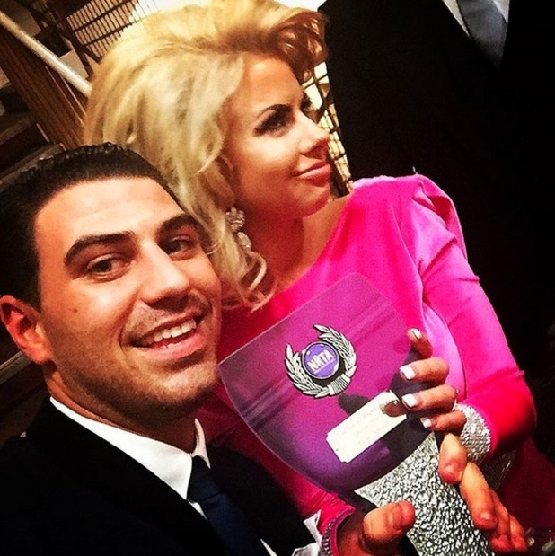 Hannah Elizabeth and Jon Clark, National Reality TV Awards, London 30 September