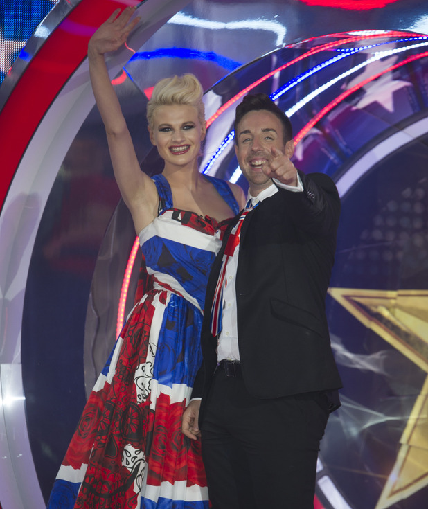 Celebrity Big Brother 2015 live final - Stevi Ritchie Chloe Jasmine Whichello - 24 September 2015.