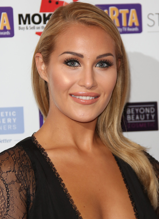 Chloe Goodman at the National Reality TV Awards in London, 1st October 2015